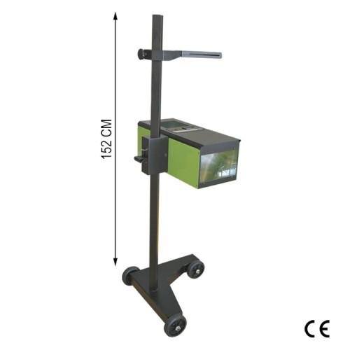 Alinhador focador de faróis com luxómetro 152Cm