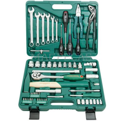 """Mala 60 peças ferramentas várias 1/2"""" e 1/4"""" Jonnesway S04H52460S"""