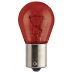Lâmpada Bosma 12V 21W BA15s Vermelho (caixa 10 unidades)