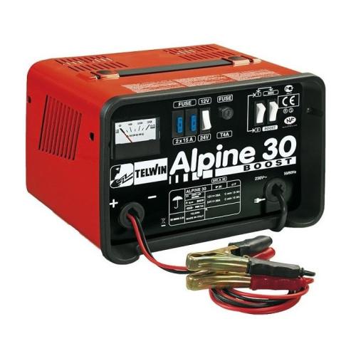 Carregador de Baterias TELWIN ALPINE 30 BOOST 12/24V