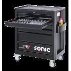 Carro 7 gavetas com 140 ferramentas Sonic S7 714040