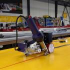 Vulcanizadora para soldadura telas PVC