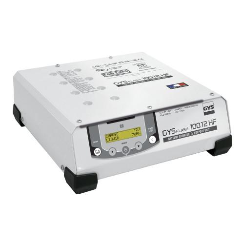 Carregador de baterias automático de alta frequência GYS Flash 100.12HF