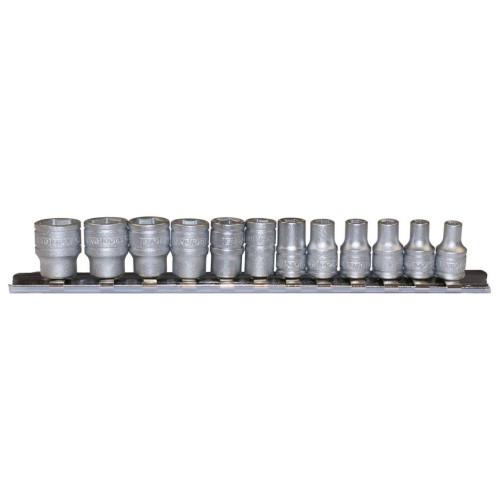 "Jogo chaves 1/4"" hexagonais 6pt  4 - 12mm Teng Tools"