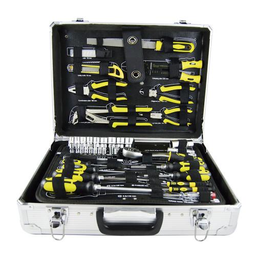 Mala serviço em alumínio 108 ferramentas