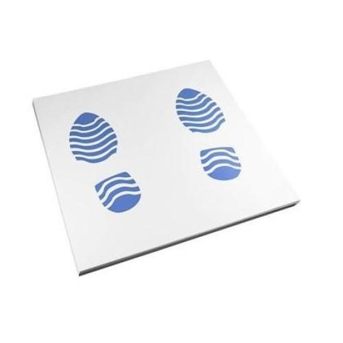 Tapetes proteção papel 250 unidades