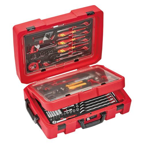 Trolley ferramenta 118 Pcs Manutenção Geral Teng Tools
