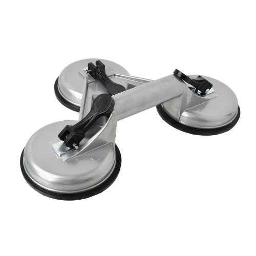 Ventosa tripla Ø 115mm corpo alumínio